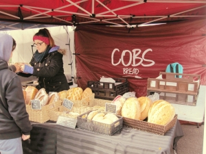 The freshly baked bread from COBS Bread smelled divine!