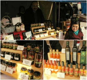 We sampled almost every product from Alphonsa's Gourmet. The chili sauces were our favourite!