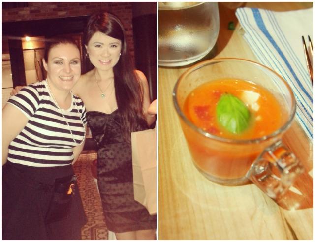 Our Server (Penny) & Gazpacho