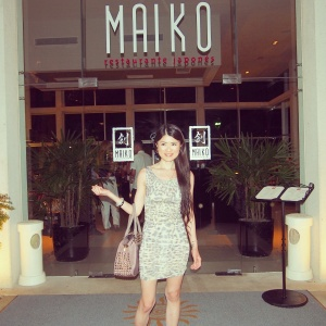 Maiko was my favourite restaurant at the Bahia Principe Riviera Maya!