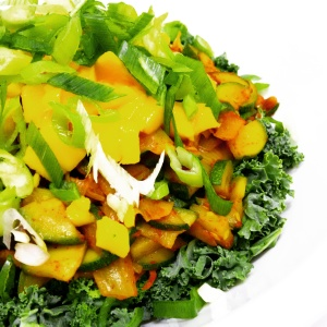 One of my secrets to making a great tasting salad is using all organic ingredients! Organic produce just tastes better.