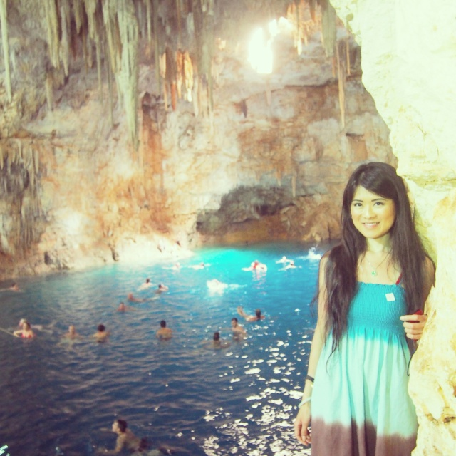 Cenote Palomitas - one of Mother Nature's beautiful creations.
