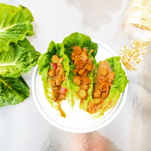 For under $5, we made plenty of organic vegan taco lettuce wraps to feed four hungry adults! They were absolutely delicious! Great ingredients make great food.